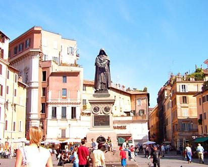 Campo de Fiori piazza Rome