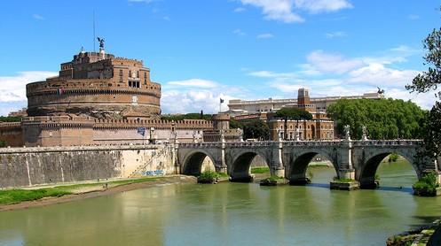 Castel Sant Angelo near San Pietro
