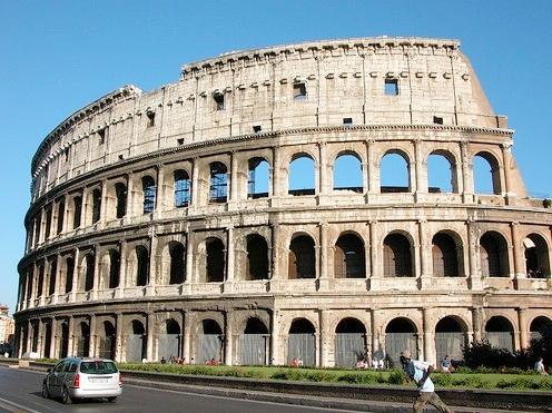 Colosseum square  Rome