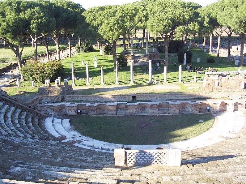 Ostia Antica in Rome