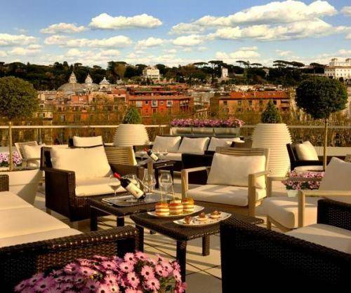 Visconti palace hotel rome book your hotel at for Visconti palace hotel