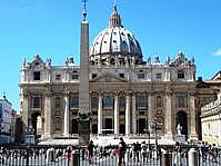 Saint Peters Square Cathedral, Rome